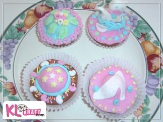 Primeros cupcakes fondant