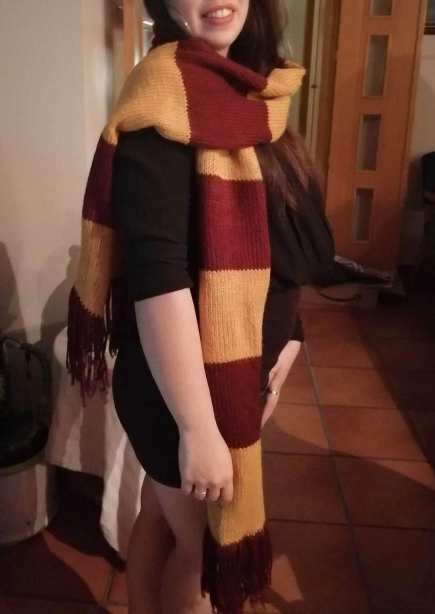 Bufanda. Fiesta de Harry Potter. Ponle arte.