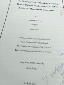 My Final Year Project Title HKBU