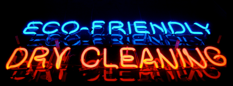 "What exactly is ""green dry cleaning""?"