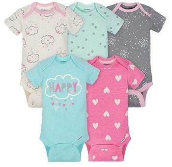 סט בגדי גוף לתינוקות בנות אמזון