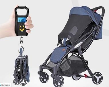 טיולון יויה מיני עגלה לתינוקות ופעוטות