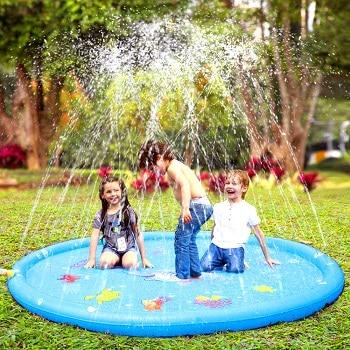 משטח מים לחצר