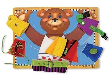 פאזל הלבש את הדובי מליסה ודאג מתנה לגיל שנתיים