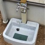 ミサワホームで一戸建て!立水栓が出来上がっていましたよ!