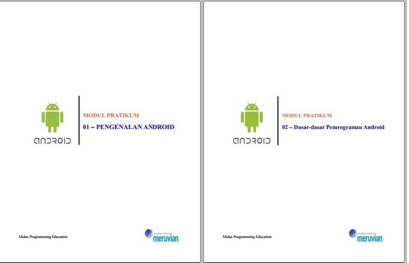 Cara membuat aplikasi android menggunakan android studio pdf