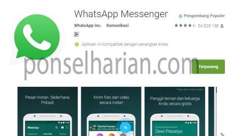 cara menginstal whatsapp di laptop tanpa emulator