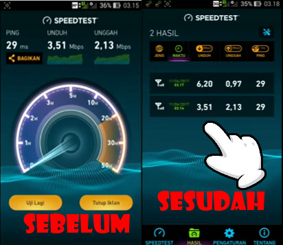 cara meningkatkan kecepatan internet