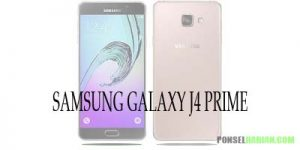 harga dan spesifikasi samsung galaxy j4 prime