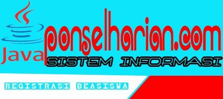 sistem informasi registrasi beasiswa berbasis java