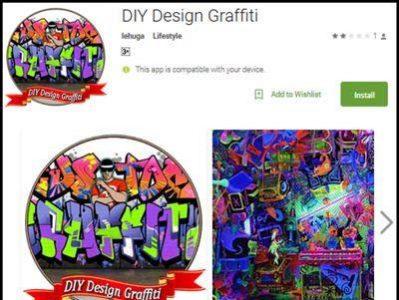 Download Aplikasi DIY Design Graffiti