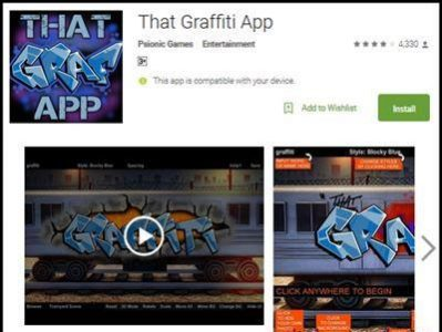 Download Aplikasi Grafifti App