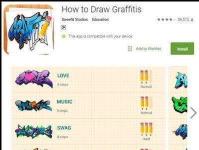 Download Aplikasi How To Draw Graffits