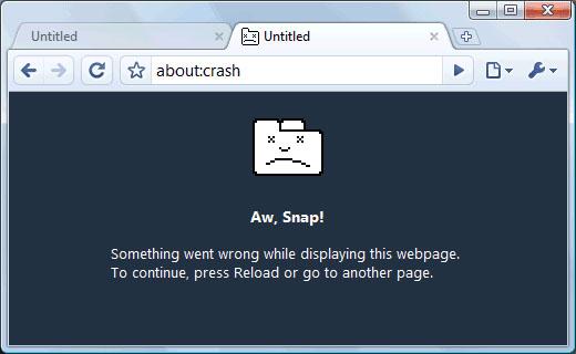 Begini Cara Memperbaiki Crash atau Error Pada Google Chrome