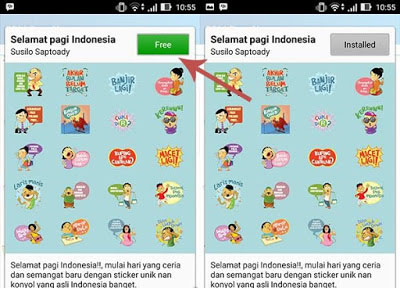 Cara Mendapatkan Sticker BBM Gratis Pada Android