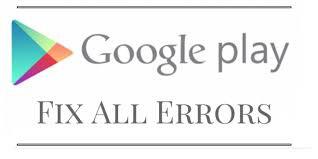 Cara Mengatasi Kesalahan Kode Error Yang Terjadi di Play Store