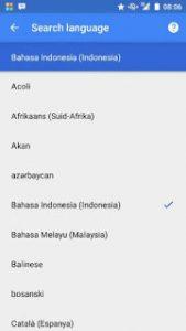 Cara Merubah Suara Google Now Menjadi Bahasa Indonesia