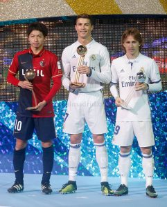 Cristiano Ronaldo Pemain Terbaik