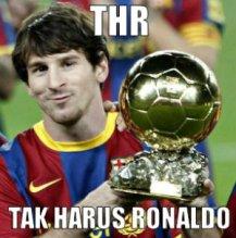 THR Bareng Messi Ronaldo
