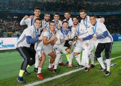 Foto Bersama Real Madrid