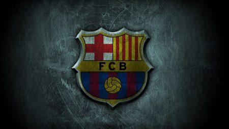 Logo Barcelona Hitam Putih Keren