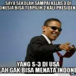 Meme Lucu presiden obama kocak