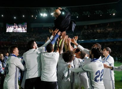 Zidane Pelatih Terbaik Real Madrid