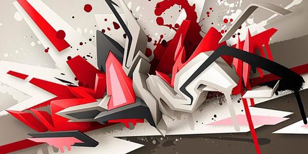 abstrak keren gambar 3d  Ponsel Harian