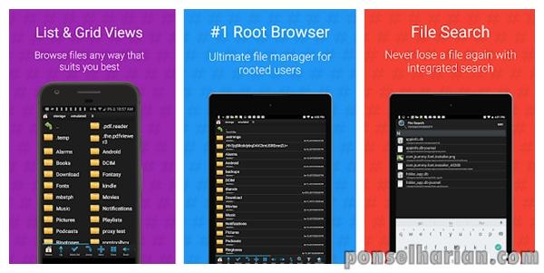 aplikasi cheat Root Browser