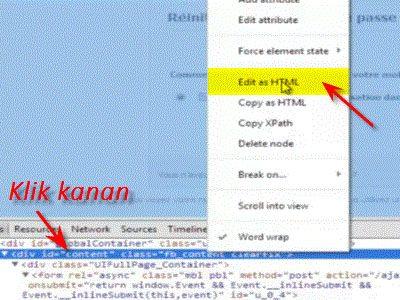 cara hack facebook orang lain dengan fake login terbaru