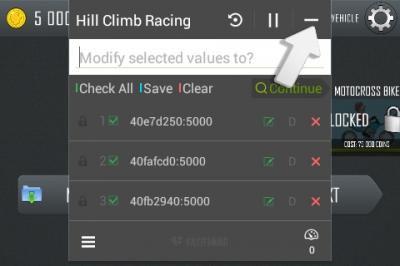 cara hack game android hill climb racing