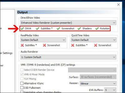 cara mengatur posisi video di media player classic