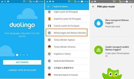cara mudah belajar bahasa inggris menggunakan aplikasi android