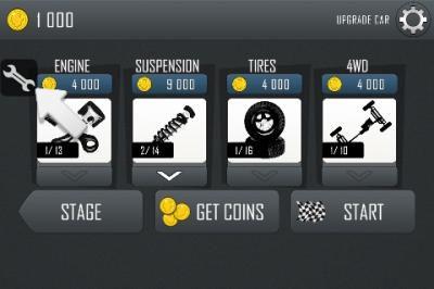 cara mudah cheat game android hill climb racing