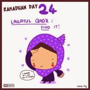 dp bbm ramadhan muslimah lucu hari ke-24