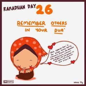 dp bbm ramadhan muslimah lucu hari ke-26