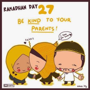 dp bbm ramadhan muslimah lucu hari ke-27