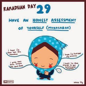 dp bbm ramadhan muslimah lucu hari ke-29