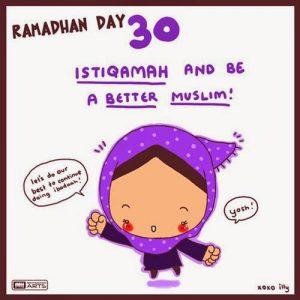 dp bbm ramadhan muslimah lucu hari ke-30