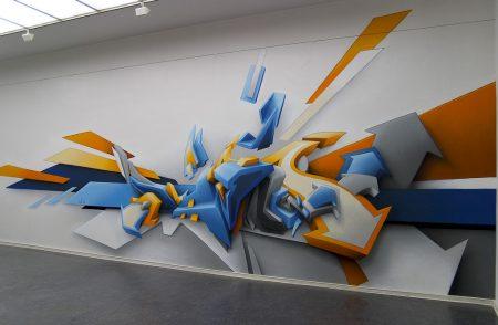 gambar grafiti abstrak
