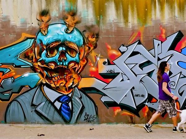 Gambar Grafiti Untuk Kamar Tidur