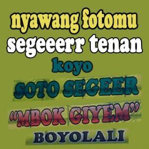 promo bahasa jawa boyolali