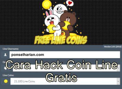 cara hack koin gratis dengan coin generator