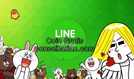 cara mendapatkan koin gratis line