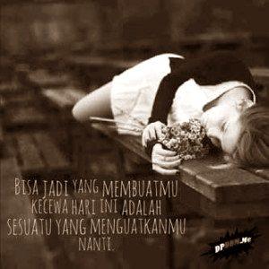 gambar sedih sendiri rindu kekasih