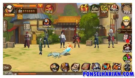game naruto Konoha Heroes