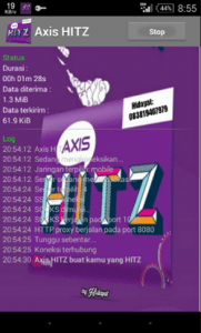 gratis internet unlimited axis hitz apk terbaru