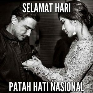 selamat hari patah hati nasional