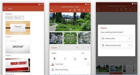 aplikasi powerpoint di hp android