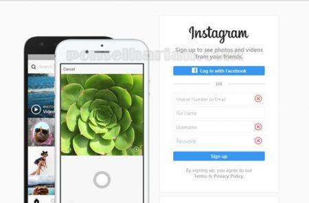 cara mengganti email instagram di laptop